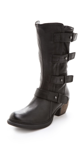 Luxury Rebel Shoes Booklyn Mid Calf Boots