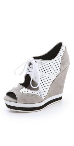 Luxury Rebel Shoes Dexter Wedge Sneakers