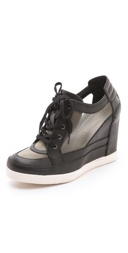 Luxury Rebel Shoes Carlton Wedge Sneakers