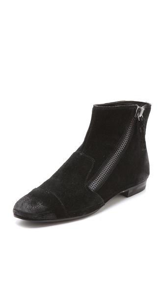 Luxury Rebel Shoes Pago Suede Booties