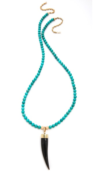 Lindsay Vallan The Katie Horn Necklace