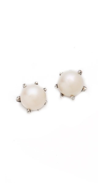 Lauren Wolf Jewelry Large Stud Earrings