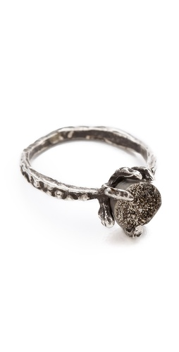 Shop Lauren Wolf Jewelry Druzy Claw Ring and Lauren Wolf Jewelry online - Accessories,Womens,Jewelry,Rings, online Store