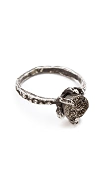Lauren Wolf Jewelry Druzy Claw Ring