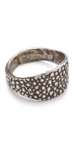 Shop Lauren Wolf Jewelry Silver Stingray Signet Ring and Lauren Wolf Jewelry online - Accessories,Womens,Jewelry,Rings, online Store