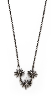 Lauren Wolf Jewelry Triple Tri Star Necklace