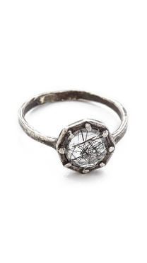 Lauren Wolf Jewelry Octagon Ring