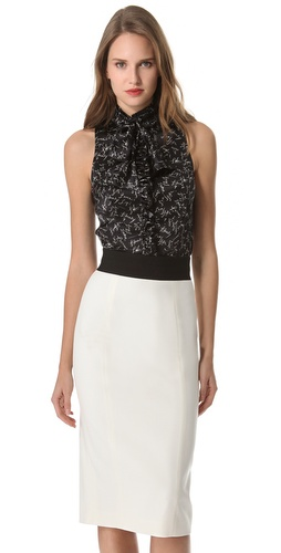 L'Wren Scott L'Wren Loves Tie Blouse