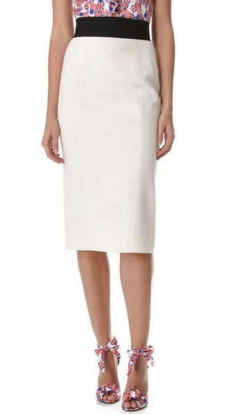 L'Wren Scott Tuxedo Skirt