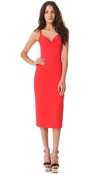 L'Wren Scott Sleeveless Red Dress