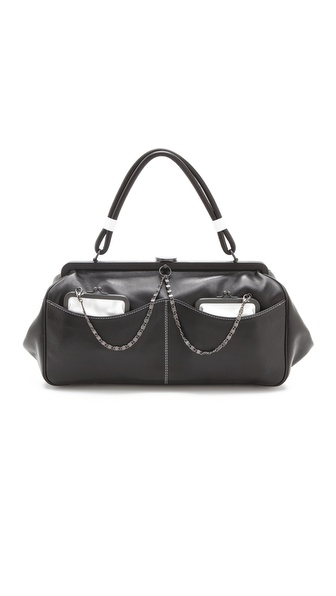 L'Wren Scott Black & White Handbag