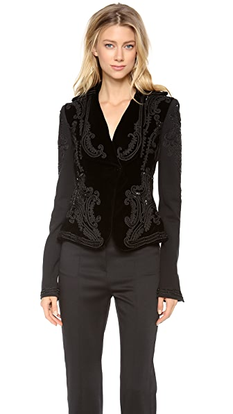 L'Wren Scott Embroidered Jacket