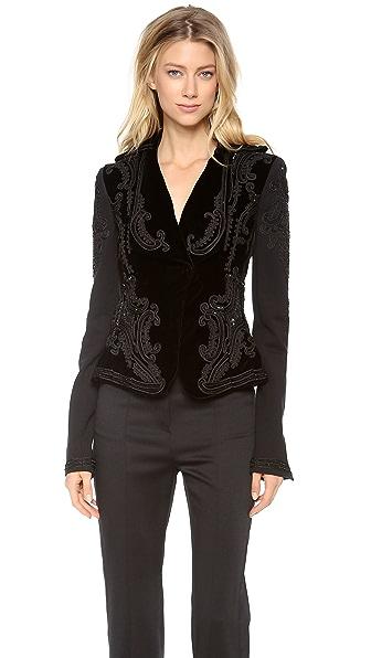 L'Wren Scott Embroidered Jacket