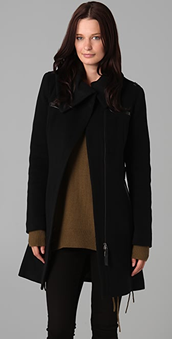 Mackage Kendra Solid Wool Coat