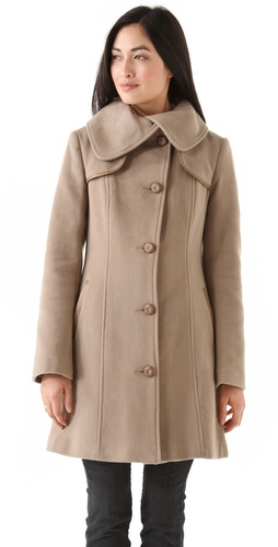 Shop Mackage Mid Length Wool Coat and Mackage online - Apparel,Womens,Outwear,Car_Coat, online Store