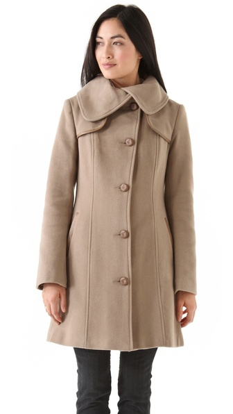 Mackage Mid Length Wool Coat