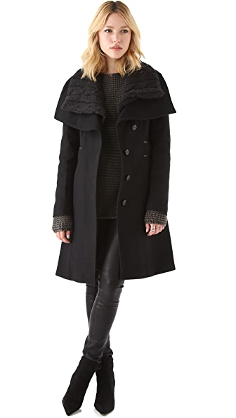 Mackage Asymmetrical Coat