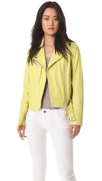 Mackage Hidi Leather Jacket
