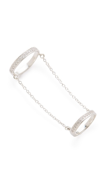 Made Her Think Double Eternity Chain Ring