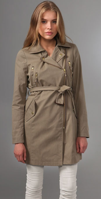 Madewell Clocktower Trench