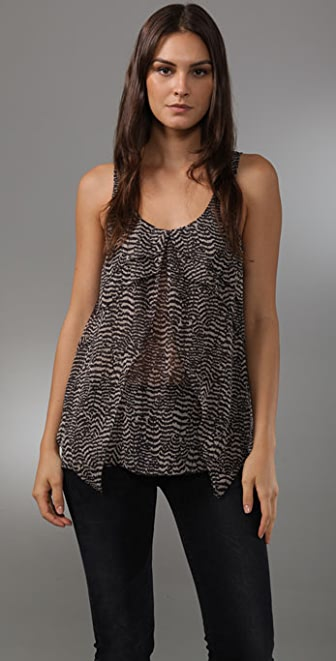 Madewell Annabelle Tiered Tank