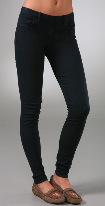 Madewell Back Zip Legging Jeans