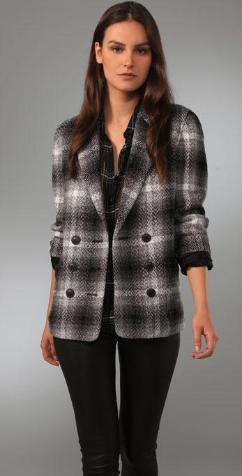 Madewell Double Breasted Marais Coat