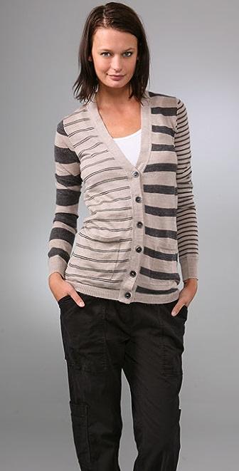 Madewell Mix Stripe Cardigan