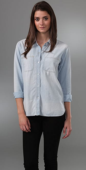 Madewell Perfect Chambray Shirt