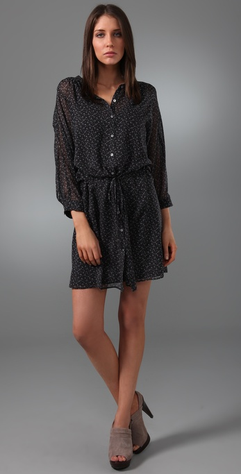 Madewell Dusky Blooms Dolman Dress