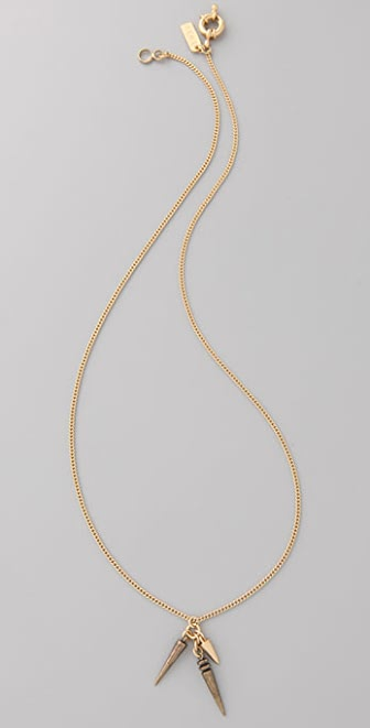 Madewell Spike Pendant Necklace