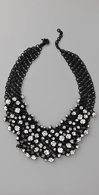 Madewell Ice Cluster Bib Necklace