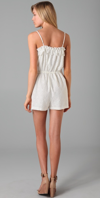 Madewell - Lace Lakeshore Romper