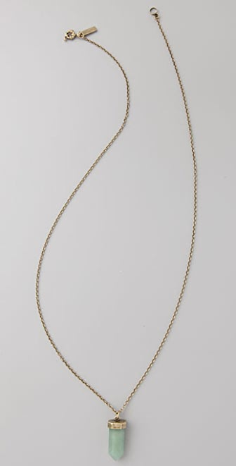 Madewell Crystal Pendant Necklace