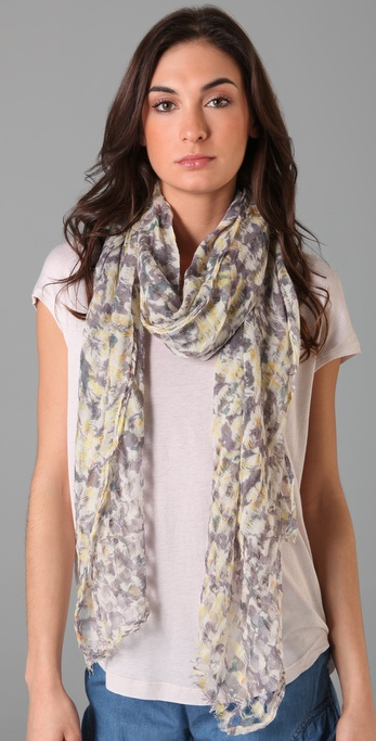 Madewell Rain Forest Floral Scarf