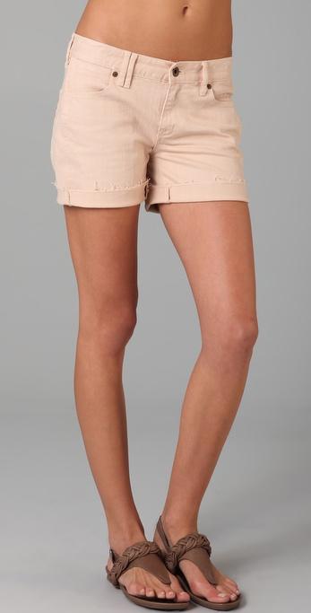 Madewell Garment Dyed Denim Shorts