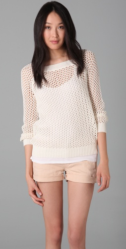 Madewell Montauk Mesh Pullover