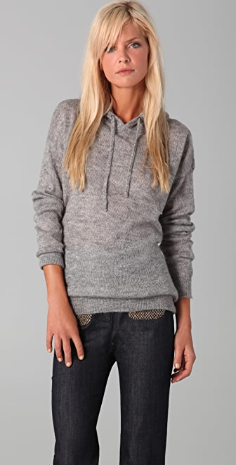 Madewell Sweater Knit Hoodie