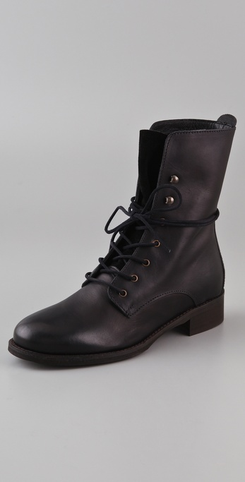 Madewell Lace Up Combat Boots
