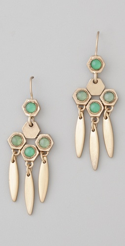 Madewell Hexagon Hinge Dangle Earrings