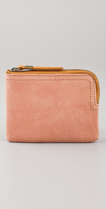 Madewell Small Leather Pocket Wallet