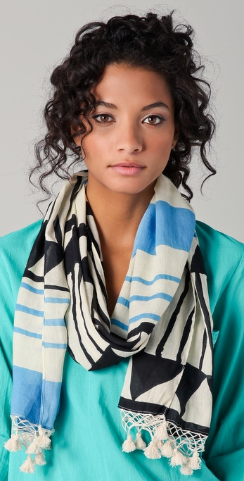 Madewell Tribal Stripe Scarf