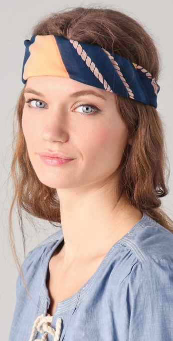 Madewell Flag Headscarf