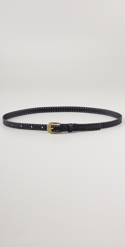 Madewell India Perforated Belt