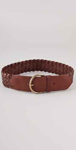 Madewell Whiskey Waist Braided Belt