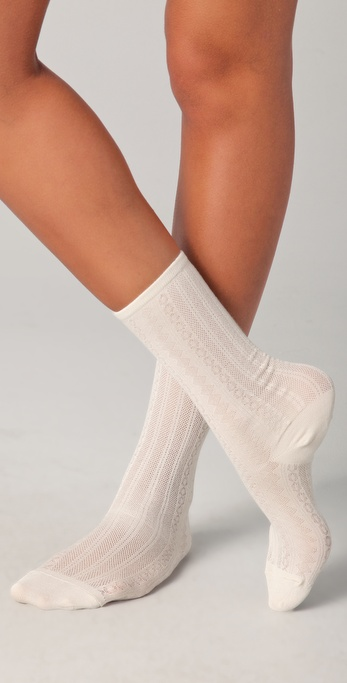 Madewell Pointelle Trouser Socks