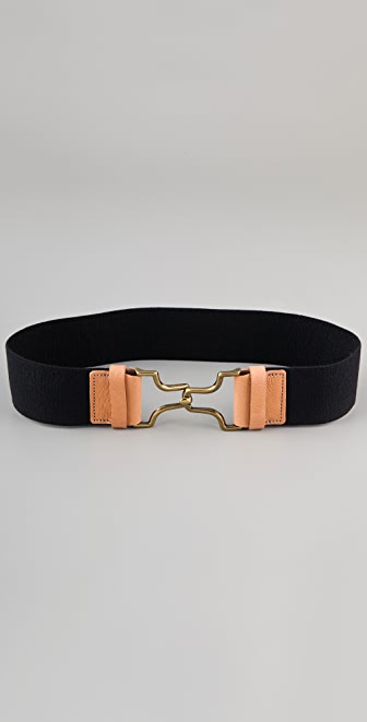 Madewell Pamplona Stretch Wide Waist Belt