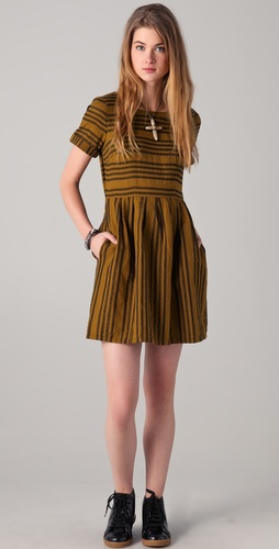 Madewell Striped Avalon Dress