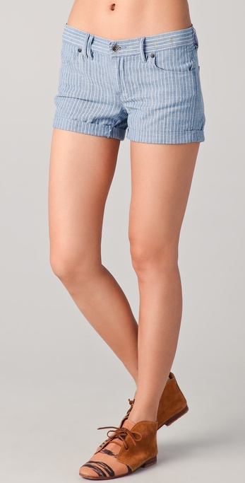 Madewell Ticking Striped Shorts