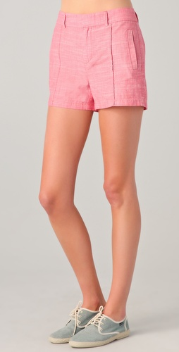 Madewell Trouser Detailed Chambray Shorts